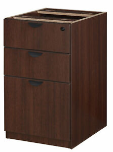 Latitude Run Linh Box File Pedestal 3 drawer Lateral Filing Cabinet