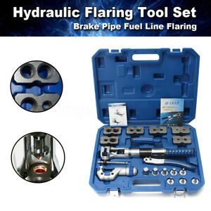 Wk 400 Universal Hydraulic Flaring Tool Set Copper Pipe Line Kit Mastercool