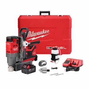 Milwaukee 2787 22 M18 Fuel 1 1 2 In Magnetic Drill Kit