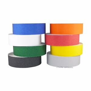 2 X 60 Non Skid Adhesive Tape Several Colors 60 Grit Grip Anti Slip Safety