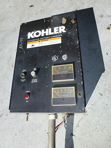 Automatic Battery Charger 120 240v 1 Phase Off Kohler Generator Fast Response 50