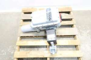 New Fisher V150 Vee ball 1 In Steel Electric Flanged 150 Control Valve