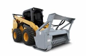 Forestry Mulcher Industrial High flow 60 Skid Steer Loader Attachment Bobcat