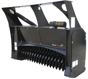 Forestry Mulcher 48 Low flow Skid Steer Loader Attachment Bobcat Kubota Gehl
