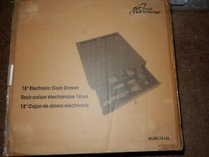 Royal Sovereign Electronic Cash Drawer Rcrd 1818e new m536