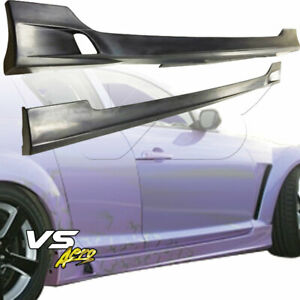 Vsaero Urethane Tsun Side Skirts For Mazda Rx 8 Se3p 04 11