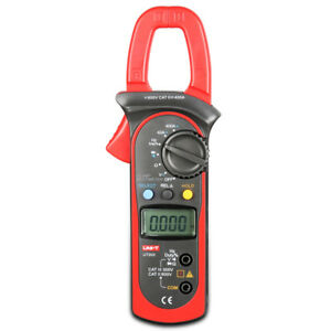 New Ut203 Digital Handheld Clamp Multimeter Tester Meter Dmm Ce Ac Dc Volt Amp