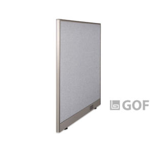 Gof Wall Mounted Office Partition 36 w X 48 h Panel Room Divider freestanding