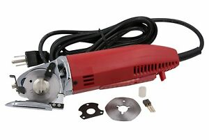 Electric Rotary Fabric Cutting Machine Knife Shears Layer Professional Tulle New