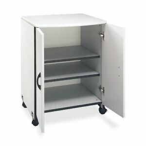 Buddy Products Wood Laser Printer And Copier Stand 23 X 31 125 X 23 Inches