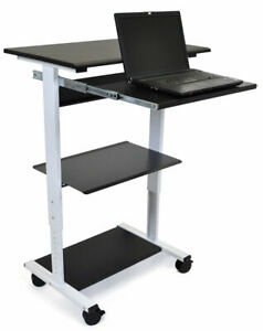 Offex 2 Shelf Av Cart