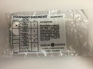 General Electric Gej 4660 Rev f Equipment Ground Bar Kit 19 Count