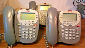 Lot Of 3 Avaya 2410 Digital Small Business Phone For Definity Ipo Ip500 Systems