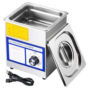 1 3l Industry Digital Ultrasonic Cleaner Jewelry Coins Cleaning Machine W timer