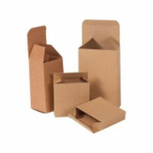 Box Packaging Reverse Tuck Folding Carton 250 case