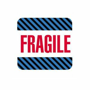 Box Packaging fragile Labels 4 X 4 500 Per Roll 1 Roll