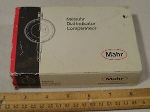 Mahr 803 w 4326100 Dial Test Indicator Gage Gauge