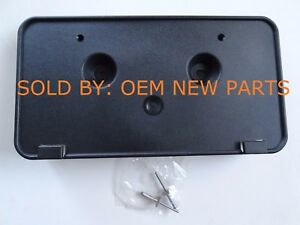 2017 2018 Ford Fusion Front License Plate Mounting Bracket W 2 Rivets Oem New