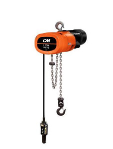 Cm Man Guard 1 ton Single Phase Electric Chain Hoist 10 Of Lift Hook Mounted