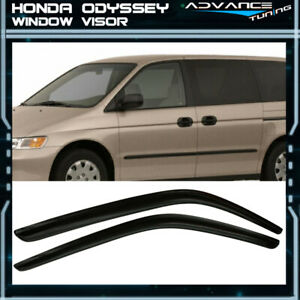 Fits 99 04 Honda Odyssey Acrylic Window Visors 2pc