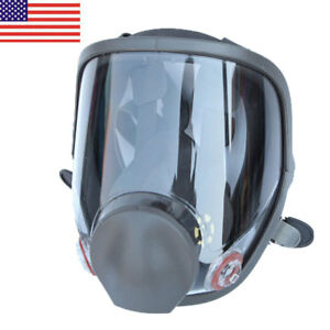 Large Size Full Face Gas Mask Painting Spraying Respirator For 6800 Facepiece Us