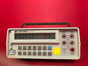 Hp Agilent Keysight 3468a 5 5 digit Digital Multimeter