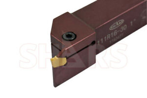 Shars 1 X 1 Shank Precision Grooving Profile Turning Tool Holder Gtn 3 New