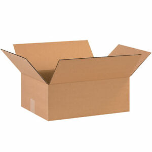 25 22 X 12 X 6 Cardboard Shipping Boxes Flat Corrugated Cartons