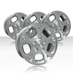Revolve 16x7 Silver Wheel For 1999 2002 Jeep Grand Cherokee Set Of 4
