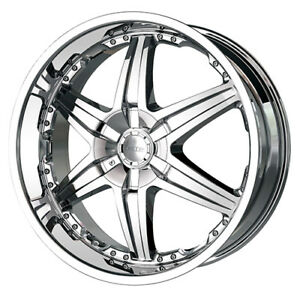 06 14 Dodge Charger Srt8 24x9 5 5x115 18 78 Dip Wicked D39c Wheels Rims