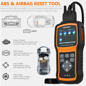 Us Abs Airbag Srs Reset Diagnostic Scanner Obd2 Code Reader Foxwell Nt630 Pro