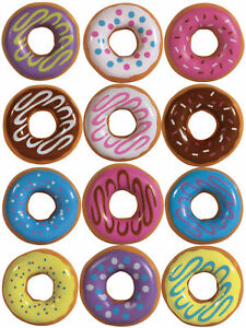 I Love Donuts Key Chains Necklaces In 2 Capsules 250 Count w Display