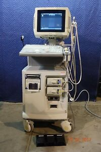 Aloka Prosound Ssd 4000 Ultrasound With Two Probes