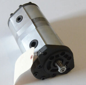 2 Stage Hydraulic Pump 20 Gallons Per Minute Per Stage 2500 Psi Rating