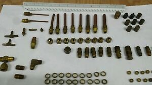 Brass Compression Fittings tees Elbows Etc Copper Also