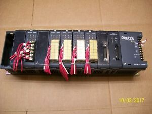Direct Logic 305 10 Slot Rack Input Output Module Power Supply D3 10b 1