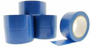 6pk 2 Blue Insulated Adhesive Pvc Pin Striping Vinyl Electrical Tape 36 Yard