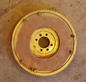 1958 Minneapolis Moline 445 Gas Farm Tractor Flywheel