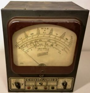 Vintage Hickok jumbo Bench Tester model 4922 great Shape un tested read