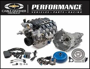 Chevrolet Oem Gm Performance Ls3 525 Hp Connect Cruise Package Engine 19301360