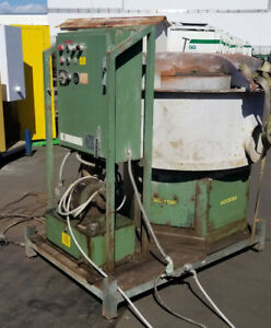 Wheelabrator hutson Hb5u Vibratory Finisher W Control Panel Includes Media
