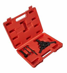 Professional Harmonic Balancer Tool Crankshaft Pulley Puller Toolset Pulley T