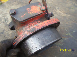 Vintage Ji Case 400 Diesel Tractor fuel Injection Pump Drive Housing 1955