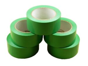 6x 2 Green Removable Adhesive Pvc Striping Vinyl Electrical Marking Floor Tape