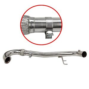 Stainless Steel Turbo Bolt On 3 Downpipe For 2014 2015 Vw Gti 2 0t Mk7 New