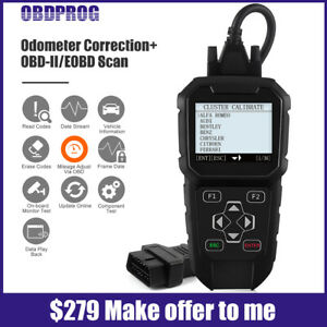 Obd2 Diagnostic Scanner Correction Mileage Automotive Odometer Diagnostic Tool