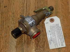 Kunkle 6010dc01 am 6010 6010od Pressure Relief Valve Steam Set 125