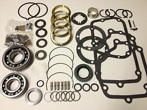 Muncie Gm Chevy Transmission 4 Speed Rebuild Kit M20 21 22 Stock Usa