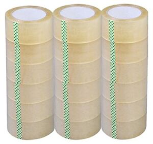 18 Rolls 2 x110 Yards Box Carton Sealing Packing Package Tape Clear 2 6mil Thick