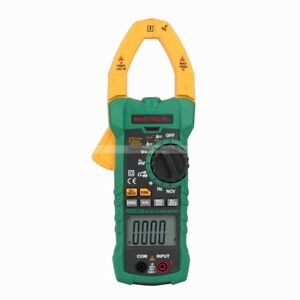 Mastech Ms2115a 6000 Counts True Rms Digital Clamp Meter Ac dc V A Inrush Ncv